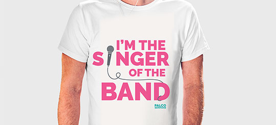 Maglietta No Singer Band